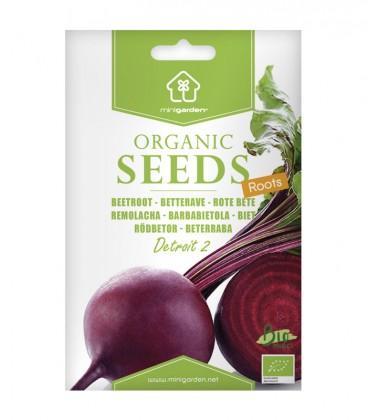 "Beetroot ""Detroit 2"", Minigarden Organic Seeds"