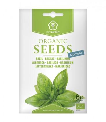 Basil, Minigarden Organic Seeds