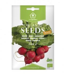 """Radish """"Saxa 2"""", Minigarden Organic Seeds"""